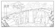 Corginia background sketch 8