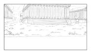 Corginia background sketch 3