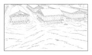 Corginia background sketch 2