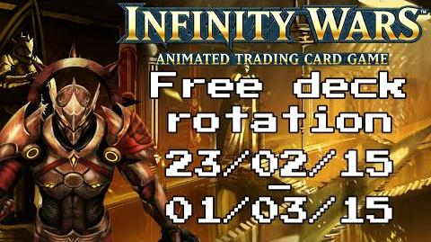 Infinity Wars - Free Deck Rotation - Episode 10