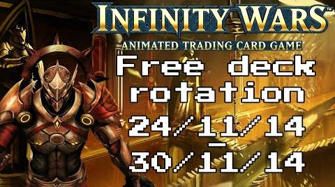 Infinity Wars - Free Deck Rotation - Episode 1