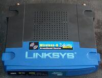 Linksys WRT54G v4.0 Bottom