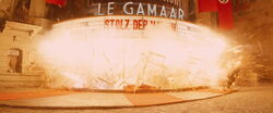 Le Gamaar explodes.jpg