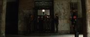 Hugo Stiglitz being escorted to the prison