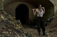 Inglourious Basterds Eli Roth photo with bat