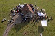 LaPadite farm house movie set