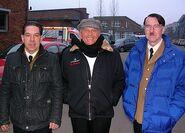 Enzo G Castellari Sylvester Groth, Enzo G. Castellari and Martin Wuttke