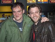 Quentin Tarantino and Ken Duken at Berlin Film Festival 2009