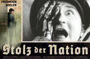 Stolz der Nation poster Soldier eye scream