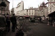 Inglourious Basterds Paris set