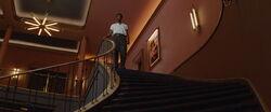 Marcel top of the cinema stairs.jpg