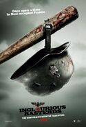 Inglorious Basterds Bear Jew's bat poster