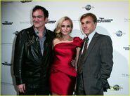 Quentin Tarantino Diane Kruger Christoph Waltz premiere