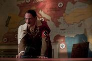 Adolf Hitler with the intercom