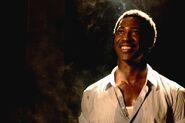 Jacky Ido in Inglourious Basterds cinema scene