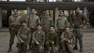The Inglourious Basterds posing photo