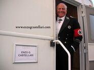 Enzo G Castellari as Nazi General in his trailer
