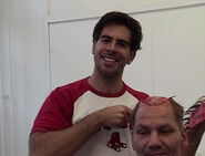 Eli Roth scalping behind the scenes