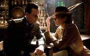 Michael Fassbender hears Diane Kruger