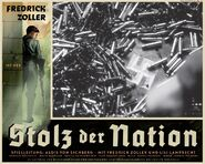 Stolz der Nation poster swastika