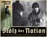 Stolz der Nation poster American colonel
