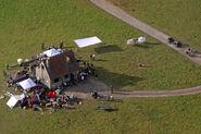 LaPadite farm Behind the Scenes aerial view