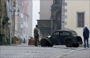 Inglourious Basterds Stolz der Nation set car