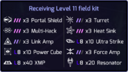 Ingress Lvl. 11 Field Kit