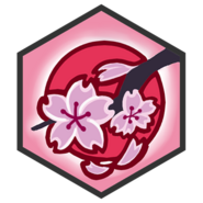 Sakura Branch-badge