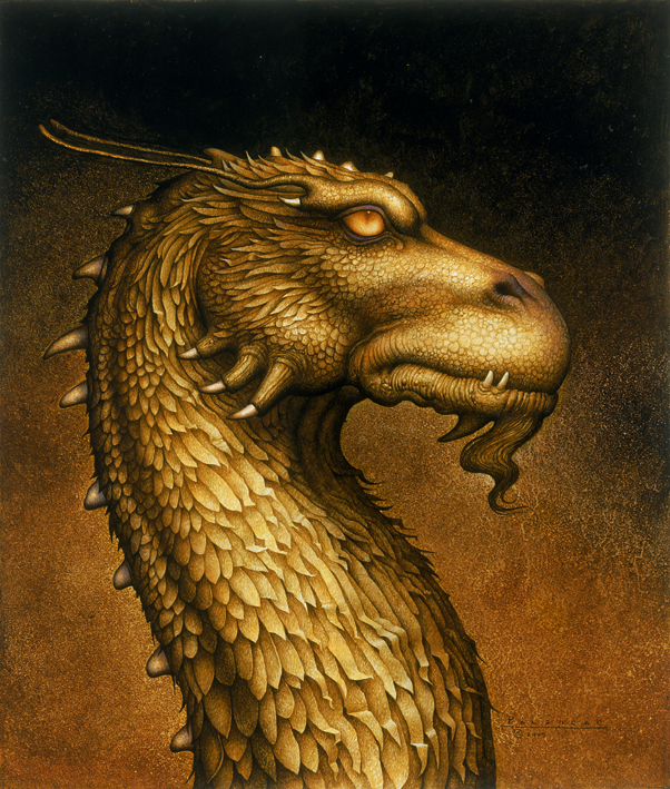 what is the name of the golden dragon in eragon