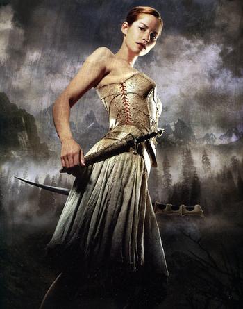 Arya Dröttning in the film