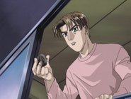 S2E07 Takumi talks with Itsuki out of his window