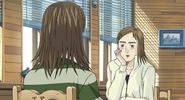 S4E09 Kyoko and her friend at a cafe