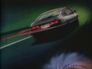 Takumi Fujiwara's AE86 and its 'aura' in Nakazato's vision