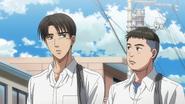 L1 Takumi and Itsuki head to school