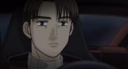 S4E07 Takumi driving on Akina