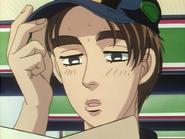 S1E21 Takumi reads the note from Ryosuke