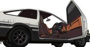 AE86 Legends Driver Door