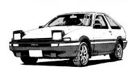 AE86T Manga Stage 1