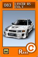 SS083 Lancer Evolution V RS CP9A