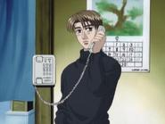 S2E10 Takumi on the phone with Itsuki