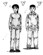 頭文字D 第13巻AItsuki-Kazumi-Wataru-97c