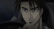 S4E18 Takumi driving the Impreza