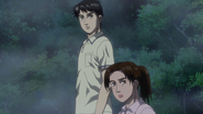 Mrs Inui and Shinji