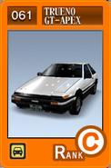 SS061 Trueno GT-APEX AE86