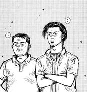 Go Hojo and Eiji Kubo Ch449