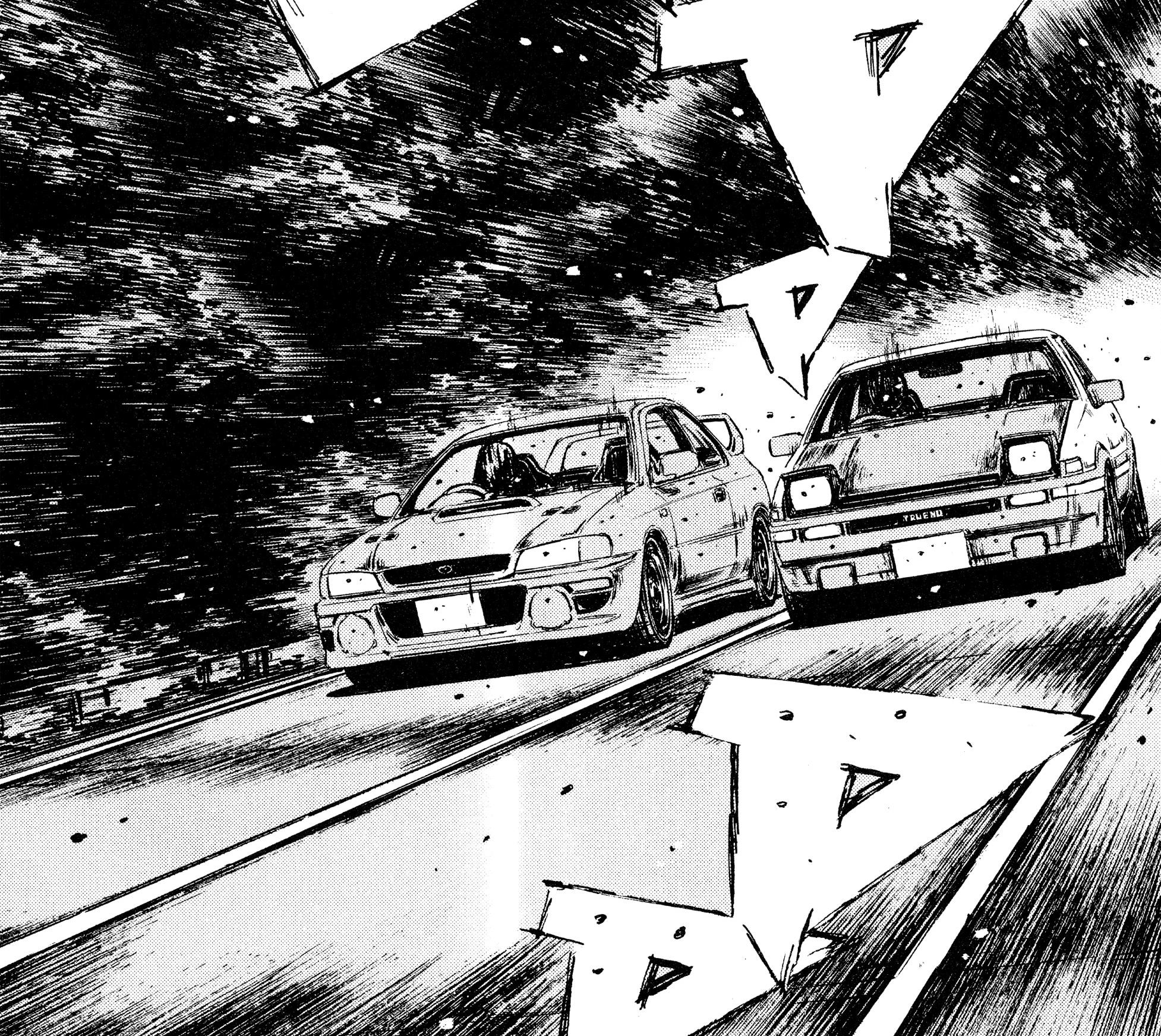 Takumi Fujiwara vs Bunta Fujiwara (Impromptu)