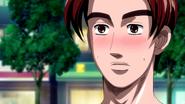 S5E04 Takumi blushes after Mika leaves