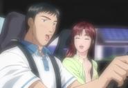 頭文字D Extra Stage Act.1 Iketani and Mako-10a