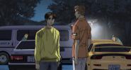 S4E08 Takumi and Keisuke on Sadamine
